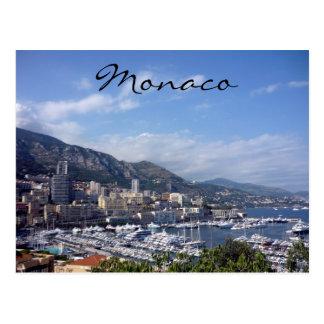 Hafen von Monaco Postkarte