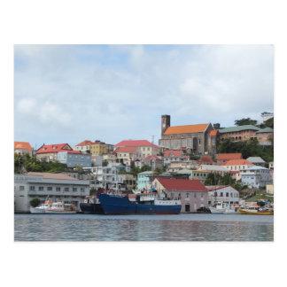 Hafen von St George Postkarte