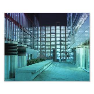 Hafencity Nachts Fotografische Drucke