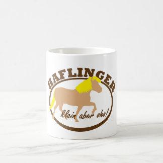 Haflinger, klein aber oho! kaffeetasse