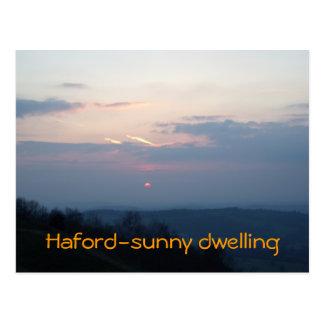 Haford-sonnige Wohnung Postkarte