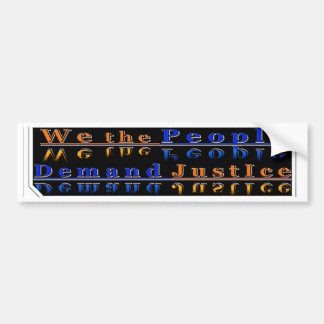 Haften Sie es 2 sie Reihe: Verlangen Sie #Justice Autoaufkleber