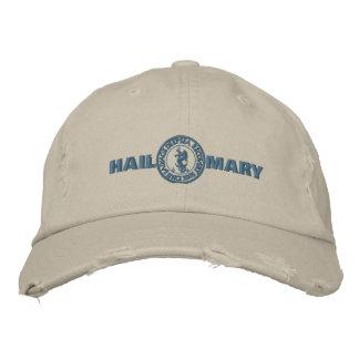 Hagel-Mary-Hut Bestickte Kappen