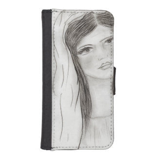 Hagel Mary iPhone SE/5/5s Geldbeutel