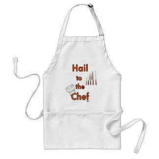 Hagel zum Koch Schürze