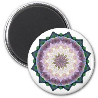 Hagi Mandala-runder Magnet Runder Magnet 5,1 Cm