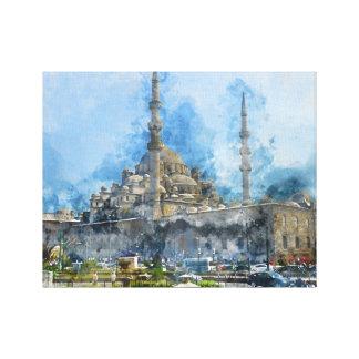 Hagia Sophia in Istanbul die Türkei Leinwanddruck