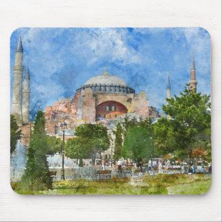 Hagia Sophia in Sultanahmet, Istanbul Mousepad