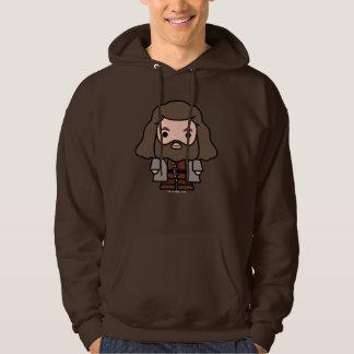 Hagrid Cartoon-Charakter-Kunst Hoodie