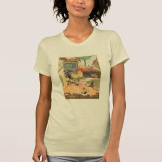 Hahn-Bauernhof-Yard (ohne Text) T-Shirt