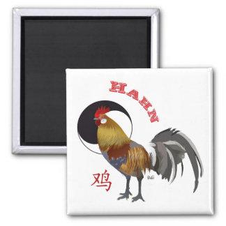 Hahn Chinesisches Sternzeichen Magnet