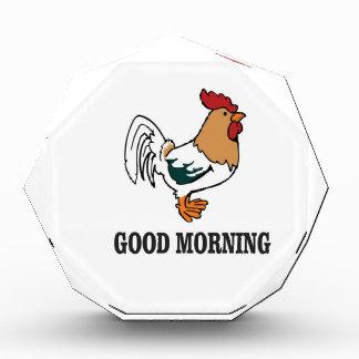 Hahn des gutenmorgens auszeichnung