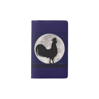 Hahn im Mondschein Moleskine Taschennotizbuch