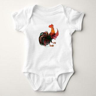 Hahn-Krähen - Baby-Bodysuit Baby Strampler