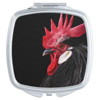 Hahnporträt Taschenspiegel