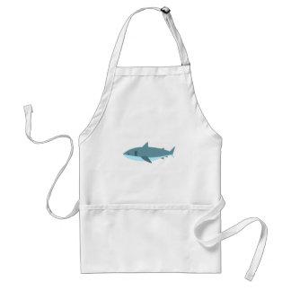 Hai-Primitiv-Art Schürze