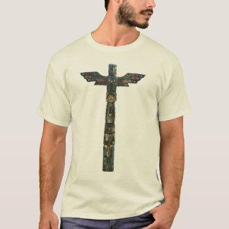 Haida-Ureinwohner-Eagle-Totempfahl T-Shirt
