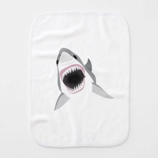 Haifisch-Angriff - Biss des Weißen Hais Spucktuch
