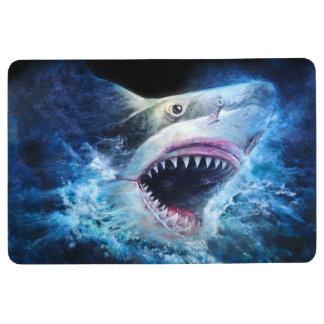 Haifisch-Angriffs-Boden-Matte Bodenmatte