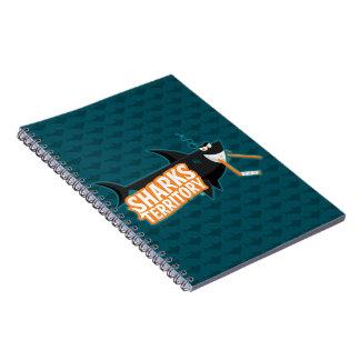 Haifisch-Gebiet - Notizbuch Spiral Notizblock