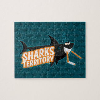 Haifisch-Gebiet - Puzzlespiel Puzzle