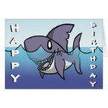 Haifisch-Geburtstags-Karte