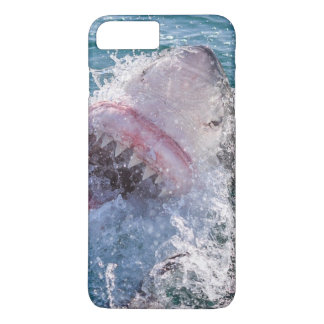 Haifisch im Wasser iPhone 8 Plus/7 Plus Hülle