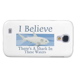 Haifisch in diesem Wasser Galaxy S4 Hülle