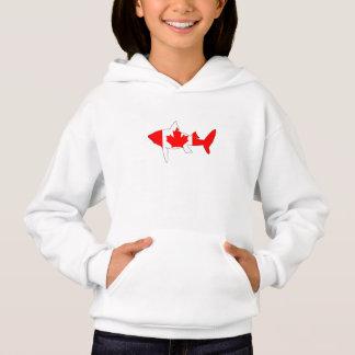 Haifisch Kanada Hoodie