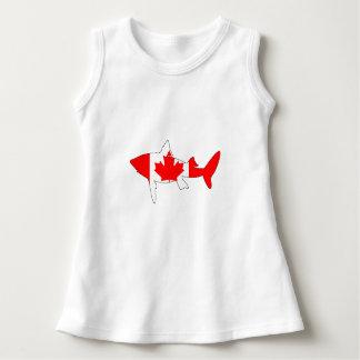 Haifisch Kanada Kleid