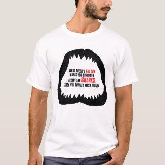 Haifisch-Kiefer-T - Shirt