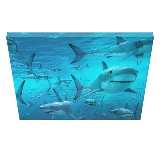 Haifisch-Leinwanddruck Leinwanddruck