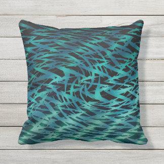 Haifisch-Raserei Kissen Für Draußen