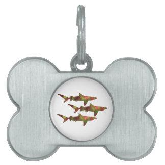 Haifisch-Raserei Tiermarke