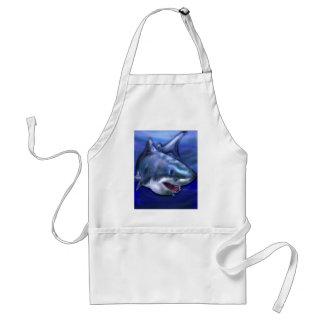 Haifisch Schürze