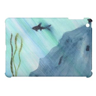 Haifisch-Schwimmen iPad Mini Hülle