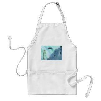 Haifisch-Schwimmen Schürze