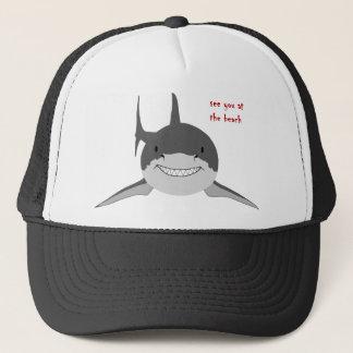 Haifisch sehen Sie Hut Truckerkappe