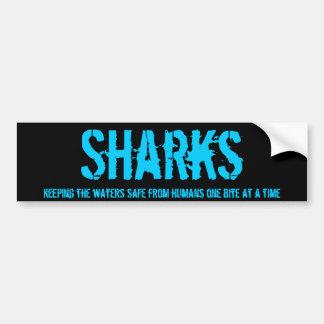 Haifisch-Stoßdämpfer v1 Autoaufkleber