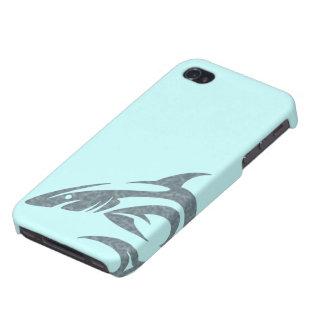 Haifisch-Tätowierung iPhone 4/4S Cover
