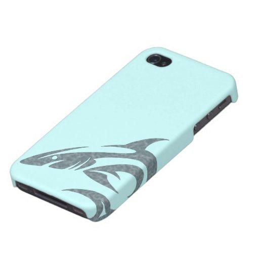 Haifisch-Tätowierung iPhone 4 Schutzhüllen