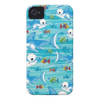 Haifisch und tropische Fische iPhone 4 Cover