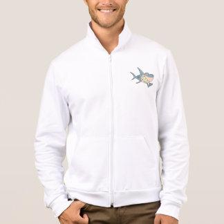 Haifisch unter Verwendung einer Jacke der