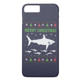 Haifisch-Weihnachten iPhone 8 Plus/7 Plus Hülle