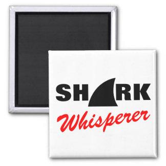 Haifisch Whisperermagnet Quadratischer Magnet
