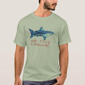 Haifisch-Witze sind das Shirt Jawesome- Männer