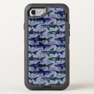 Haifische im Tiefsee OtterBox Defender iPhone 8/7 Hülle
