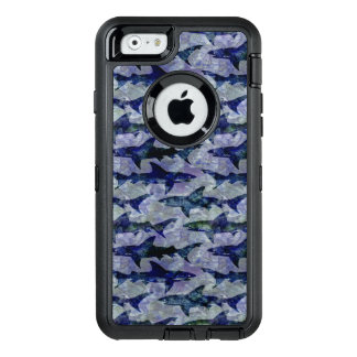Haifische im Tiefsee OtterBox iPhone 6/6s Hülle