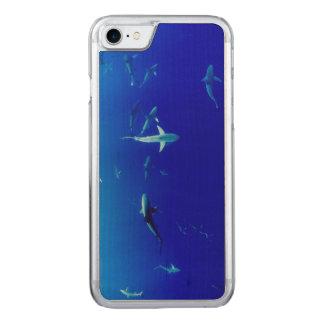 Haifische Unterwasser Carved iPhone 8/7 Hülle