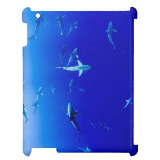 Haifische Unterwasser iPad Hülle